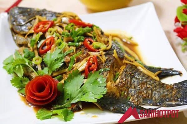 Cá rô phi om dưa chuẩn cơm mẹ nấu